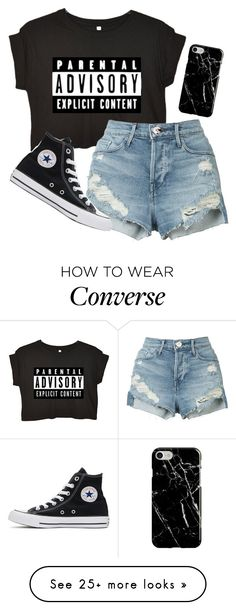 """Tired"" by river-rain-water on Polyvore featuring 3x1, Converse and Recover"