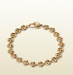4a6a03f10c2 gucci 1973 bracelet in yellow gold Gucci Bracelet