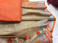 Sarees Attractive Linen Saree  *Fabric* Saree - Linen, Blouse - Linen  *Size* Saree Length With Running Blouse - 6.3 Mtr  *Work* Handloom Work  *Sizes Available* Free Size *   Catalog Rating: ★3.9 (149)  Catalog Name: Aaryahi Solid Linen Sarees with Tassels and Latkans CatalogID_128043 C74-SC1004 Code: 578-1051377-