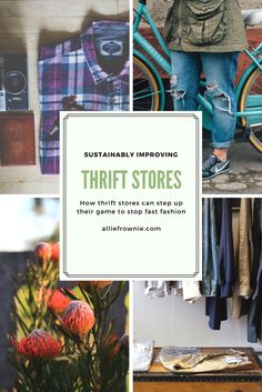 By nature, thrift stores are a lot more sustainable than the typical fast fashion establishment. Though there is always room for improvement. Vegan Fashion, Fast Fashion, Men's Fashion, Ethical Clothing, Ethical Fashion, Sustainable Clothing, Sustainable Fashion, American Made Clothing, Recycled Fashion