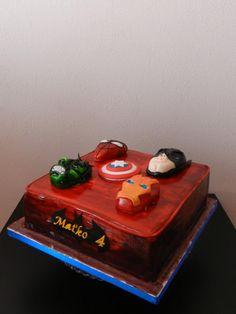 cake for fan Avengers - Cake by Janeta Kullová