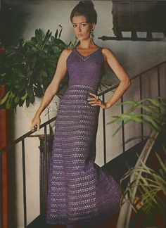 After Dark Crochet Dress pattern   MS71 by suerock on Etsy, $4.25