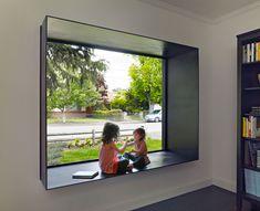 House Extension Design, House Design, Architecture Details, Interior Architecture, Interior Design, Bay Window Living Room, House Construction Plan, Modern Windows, Modern Window Design