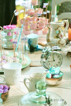 Tea party Alice in wonderland http://www.alittlemarket.com/boutique/de-petits-riens