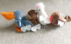 Collectible Vintage Ty Beanie Babies  KuKu Early by Pastfinds