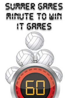 Summer Olympics Minute to Win It Games (Minutes To Win It Games For Teens) Gym Games For Kids, Summer Camp Games, Summer Camp Activities, Camping Games, Activities For Kids, Olympic Games For Kids, Teen Games, Yurt Camping, Kids Camp