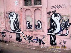 Graffiti de Derlon Almeida em rua de Recife. Street art 000