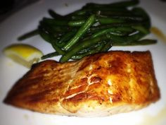 Salmon and String Beans: 5/3/13