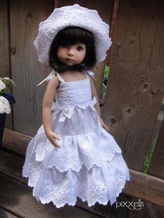 "Broderie Anglaise Set Dianna Effner Little Darlings 13"" Studio Dolls by pixxells"