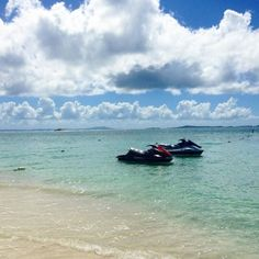 Spend an unforgettable afternoon on the water, explioring El Con Resort by jet ski.