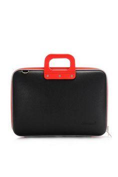 Laptoptassen : Laptoptas 15 inch zwart CLASSIC BOMBATA