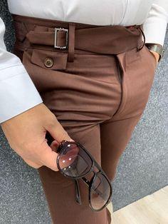 Italian Mens Fashion, Indian Men Fashion, Mens Fashion Wear, Fashion Pants, Formal Men Outfit, Casual Wear For Men, Formal Dresses For Men, Formal Pants, Blazer Outfits Men