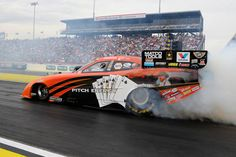 Johnny Gray talks about the tribute to his father on his NHRA Funny Car this season. (NHRA Media PR Photo)