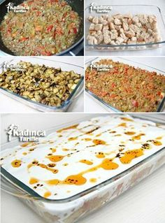 Patlıcanlı Ekmek Kebabı Tarifi