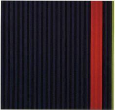 """Red Dog"" by Gene Davis (American) Post Painterly Abstraction, Abstract Art, Gene Davis, Red Dog, Colour Field, Art Database, Contemporary Art, Modern Art, Street Art"