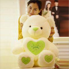 $41.48 (Buy here: https://alitems.com/g/1e8d114494ebda23ff8b16525dc3e8/?i=5&ulp=https%3A%2F%2Fwww.aliexpress.com%2Fitem%2FSuper-Cute-New-Arrival-60cm-Large-Size-Love-Heart-Bear-Plush-Toy-Kids-Appease-Doll%2F32698265386.html ) Super Cute!!! New Arrival 60cm Large Size Love Heart Bear Plush Toy Kids Appease Doll for just $41.48