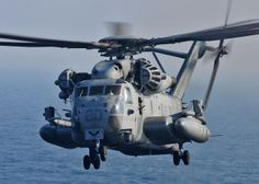 A CH-53 takes off from USS New York. by Official U.S. Navy Imagery