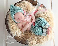 Instant Download - PDF Bella pants set crochet pattern - pants - Bonnet  - photo prop on Etsy, $4.95