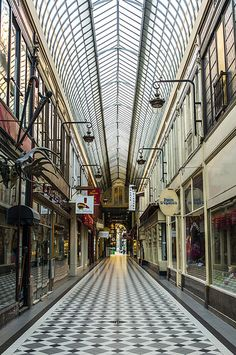 Passage Jouffroy to Passage des Panoramas, Paris, France