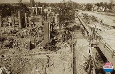 Arnhem: Ravage rond Rijnbrug, april 1945