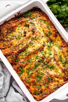 Simple homemade Beef Enchiladas are full of Mexican comfort food flavors. This recipe includes a quick homemade red enchilada sauce and an easy ground beef filling that's ready for the oven in 30 minutes. Easy Beef Enchiladas, Ground Beef Enchiladas, Red Enchiladas, Homemade Enchiladas, Cheese Enchiladas, Mexican Food Recipes, Beef Recipes, Dinner Recipes, Ethnic Recipes