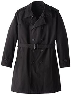 Stacy Adams Men's Big-Tall Rain Double Breasted Full Length Top Coat, Black, 52 Regular Stacy Adams ++ You can get best price to buy this with big discount just for you.++