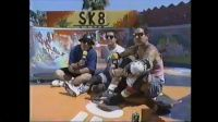 Nickelodeon entrevista no ano de 1990 dois grandes icones no skate mundial eles são lendários skatistas das piscina com raízes em Dogtown da década de 1970, aqui você pode ver Steve e Micke Alba.