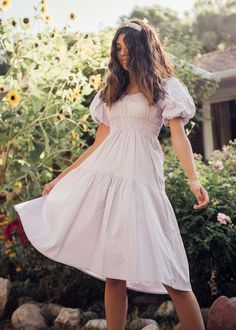 Modest Outfits, Dress Outfits, Casual Dresses, Retro Outfits, Girls Night Out Dresses, Dresses For Teens, Strawberry Dress, Daisy Dress, Easter Dress