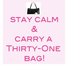 Stay Calm & Carry Thirty One