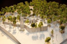 Image 6 of 7 from gallery of Nieto Sobejano Arquitectos Bag Victory in Contest for Estonia's Arvo Pärt Centre. Image Courtesy of The Union of Estonian Architects Arvo Part, Architecture 101, Model Site, Arch Model, Modelos 3d, Roof Light, Victorious, Centre, Competition