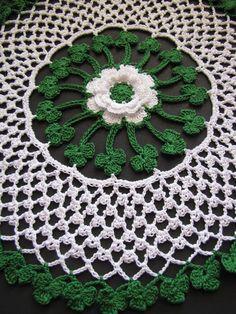 Irish Blessings Crochet Doily