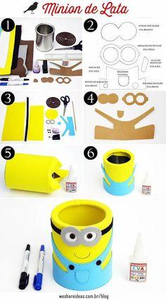 10 ideias criativas para festa minions, minions party, festa infantil, ideias festa, party ideias, decoração minion: