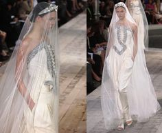 karlie kloss at givenchy haute couture autumn/winter 2009-2010
