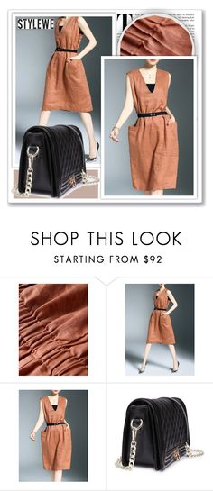 """""""Stylewe"""" by k-lole ❤ liked on Polyvore featuring stylewe"""