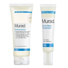 Rank & Style - Murad Clarifying Cleanser & Acne Spot Treatment #rankandstyle