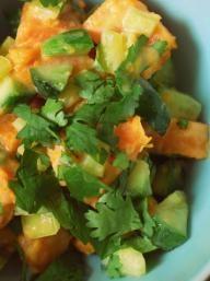 Sweet Potato Salad with Maple Dressing | KitchenDaily.com