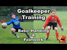 ▶ Goalkeeper Training - U10/U12 - SeriousGoalkeeping.net - YouTube
