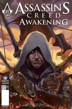 All Assassin's Creed: Awakening #1 Cover E - Nana Lee & John Aggs