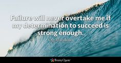 Failure will never overtake me if my determination to succeed is strong enough. Og Mandino. #westcoastaromatherapy #learnaromatherapy #learnaboutessentialoils #aromatherapycourses #aromatherapyschool #1iloveessentialoils #essentialoils4everyone