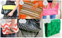 DIY Roundup: Handbags and Clutches