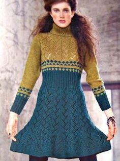 теплое платье | Клубок