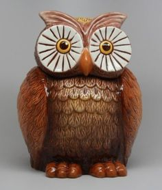 Amazon.com: OWL COOKIE JAR: Home & Kitchen