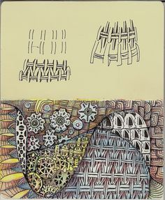 Volant Color Pencil by molossus, who says Life Imitates Doodles, via Flickr