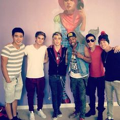 Im5 and Todrick Hall. Look at Dalton's face, though! He looks confused