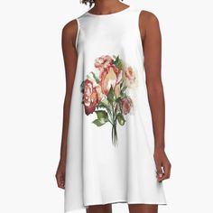 """Rosenstrauß"" von Mojart   Redbubble Summer Dresses, Accessories, Shopping, Art, Fashion, Sleeveless Tops, Mini Skirts, Clothing, Art Background"