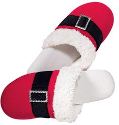 Avon: Santa Bling Slipper The absolute cutest in holiday slippers! On sale right now for only $7.99!!