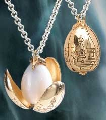 Golden Egg Pendant from The Goblet of Fire. The Geek in me loves this