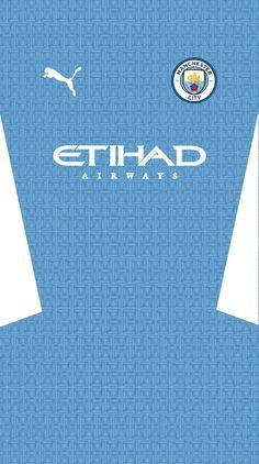 Custom Football, Football Kits, Manchester City Wallpaper, Apple Wallpaper, Premier League, Kai, Logo Design, Soccer, Nice