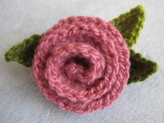 Wind Rose Fiber Studio: Deco Rose ~ Free Crochet Pattern