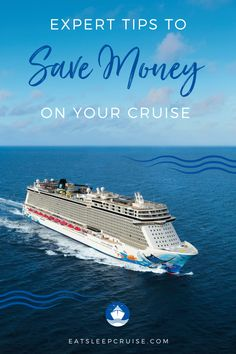 Are you dreaming of a cruise vacation but don't want to break the bank? Cruise vacations have an advantage in that they are mostly all-inclusive. Here we share expert tips for finding deals and hacks for saving money while onboard. These are the best tricks and work for families or even couples planning a wedding or honeymoon. Check out these tips for a cheap cruise, and you'll be ready to book as soon as cruising resumes! #SaveMoney #CruiseVacation #Cruising #CruiseTips #Cruise